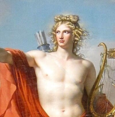 Dios Apolo y Dafne