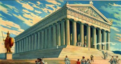 templo griegos mitos