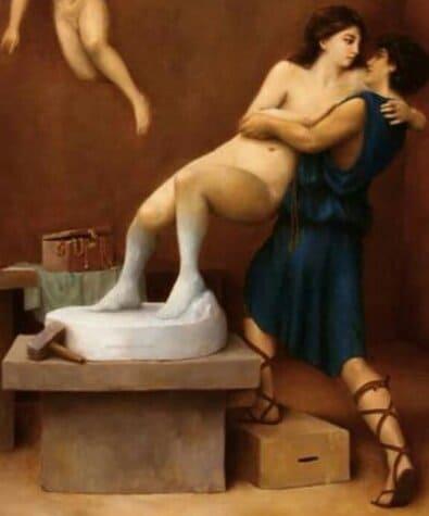 mito de pigmalion y galatea estutua