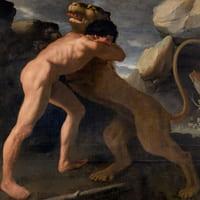Hercules y leon de nemea